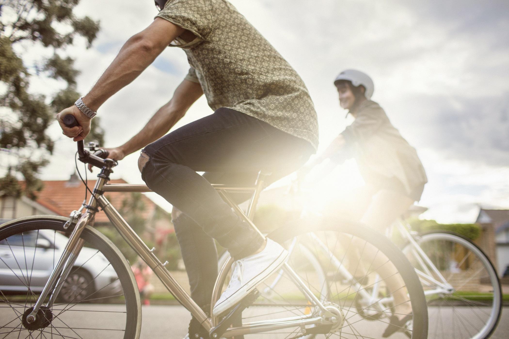 Valitse pyöräily tai kävely moottoriajoneuvon sijaan, mikäli mahdollista